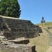 Site archéologique à Nice