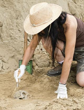 recherches archéologiques